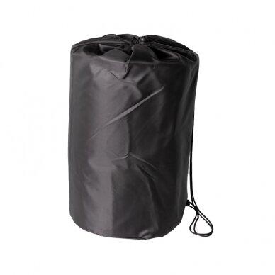 Akupresūros masažinis kilimėlis 130x43cm + Akupresūros masažinė pagalvė BLACK (1) 7