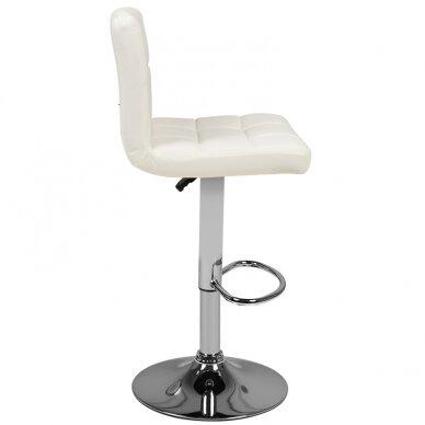 Bāra krēsls TERRAIN ECO LEATHER CHROME WHITE 3