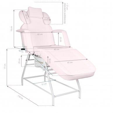 Kosmetologinis krėslas VISAGE PINK 2