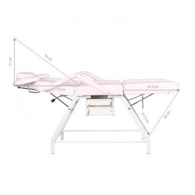 Kosmētikas krēsls VISAGE PINK 3