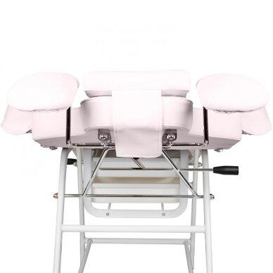 Kosmetologinis krėslas VISAGE PINK 8