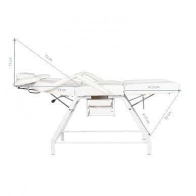 Kosmētikas krēsls VISAGE WHITE 4