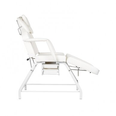 Kosmetologinis krėslas VISAGE WHITE 5