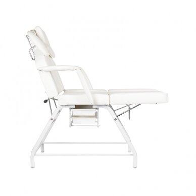 Kosmetologinis krėslas VISAGE WHITE 6