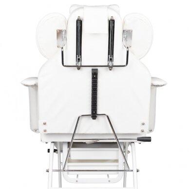 Kosmetologinis krėslas VISAGE WHITE 8