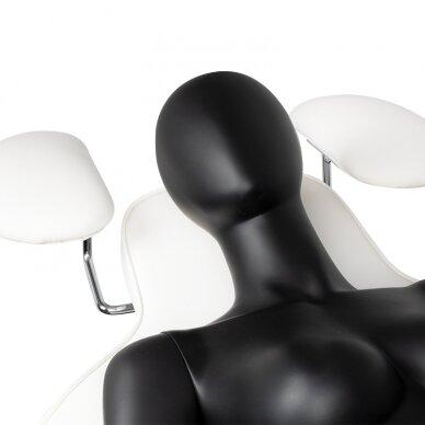 Kosmetologinis krėslas VISAGE WHITE 11