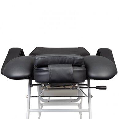 Kosmetologinis krėslas VISAGE BLACK 8