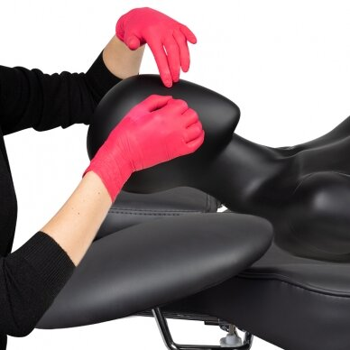 Kosmetologinis krėslas VISAGE BLACK 10