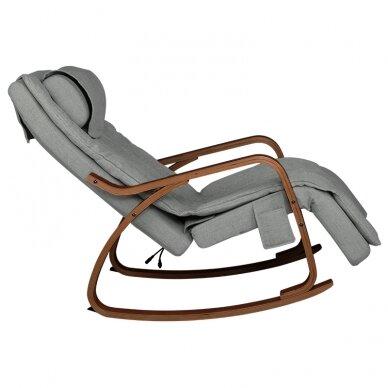 Šūpojošs masāžas krēsls SHIATSU RELAX GREY 3