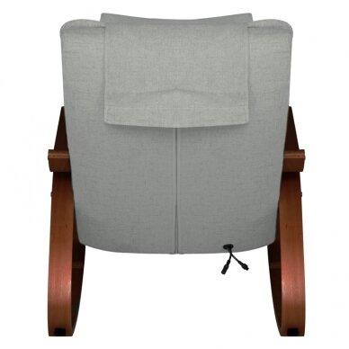 Supamas masažinis krėslas SHIATSU RELAX GREY 4