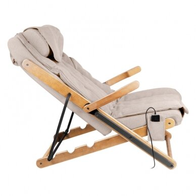 Sulankstomas masažinis krėslas SHIATSU RELAX FOLD BEIGE 2