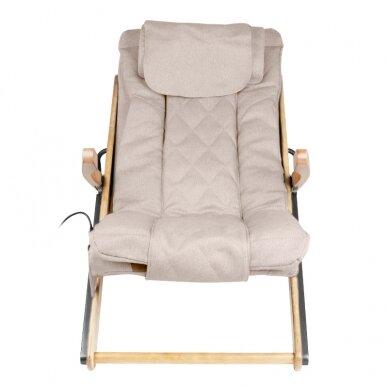 Saliekams masāžas krēsls SHIATSU RELAX FOLD BEIGE 3