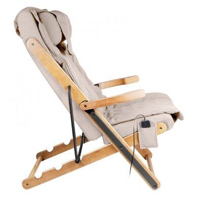 Saliekams masāžas krēsls SHIATSU RELAX FOLD BEIGE 4