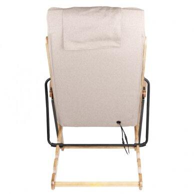 Saliekams masāžas krēsls SHIATSU RELAX FOLD BEIGE 5