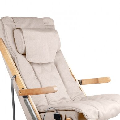 Saliekams masāžas krēsls SHIATSU RELAX FOLD BEIGE 6