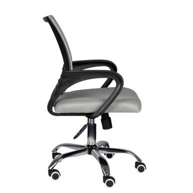 Biroja krēsls uz riteņiem OFFICE CHAIR ECO COMFORT BLACK/GRAY 2