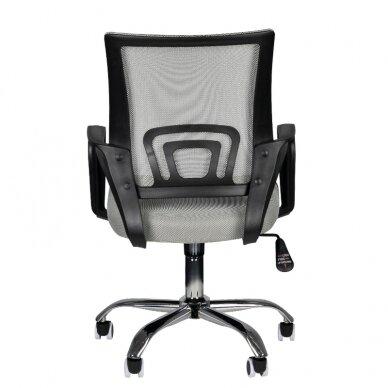 Biuro kėdė ant ratukų OFFICE CHAIR ECO COMFORT BLACK/GRAY 3