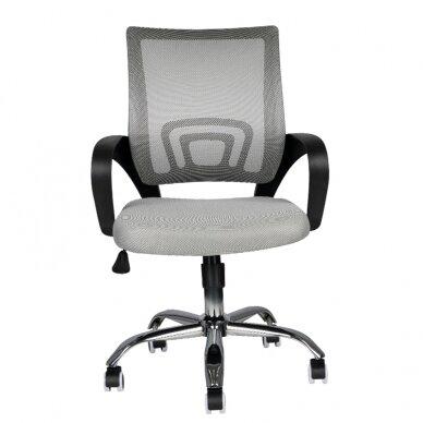Biroja krēsls uz riteņiem OFFICE CHAIR ECO COMFORT BLACK/GRAY 4