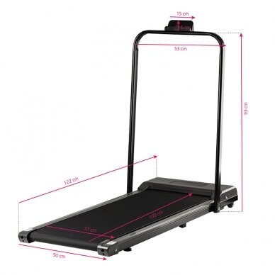 Bėgimo takelis ELECTRIC FOLDING TREADMILL MODEL2 10