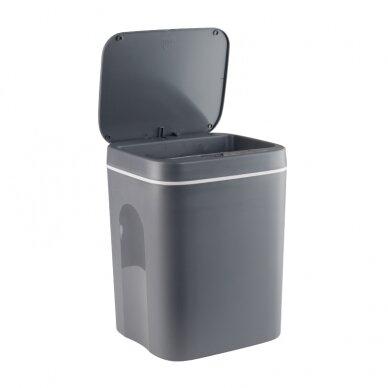 Automātiska atkritumu tvertne 12L GREY 2