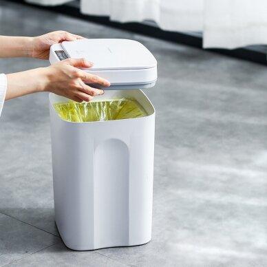 Automātiska atkritumu tvertne 12L WHITE 4