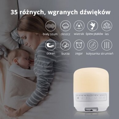 Nakts lampa bērniem BABY SLEEP LAMP 5
