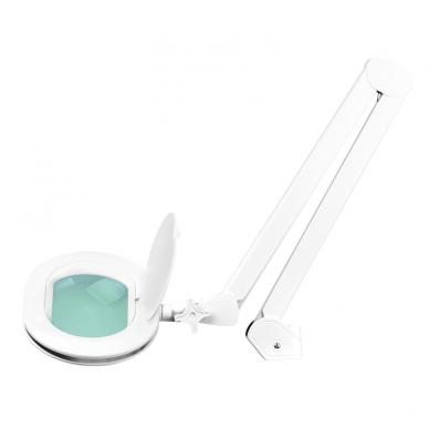 Kosmetologinė LED lempa su lupa ir stovu 10W 3