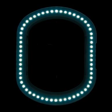 Kosmetologinė LED lempa su lupa ir stovu 10W 6