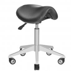 Meistara krēsls STOOL BEAUTY AZZURRO BLACK