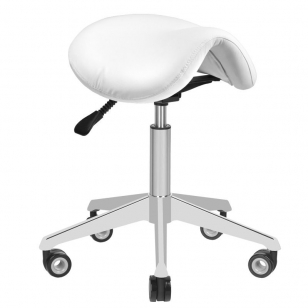 Meistro kėdutė STOOL BEAUTY AZZURRO WHITE
