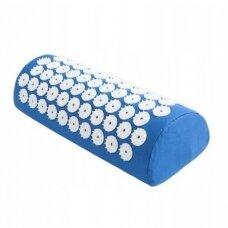 Akupresūros masažinė pagalvėlė, 15x40cm BLUE