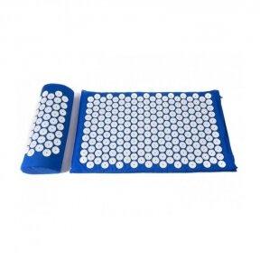 Nõelravi massaažimatt 40X60cm BLUEK + Nõelravi massaažipadi BLUE