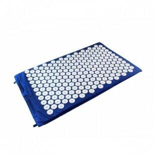 Akupresūros masažinis kilimėlis, 40x60cm BLUE