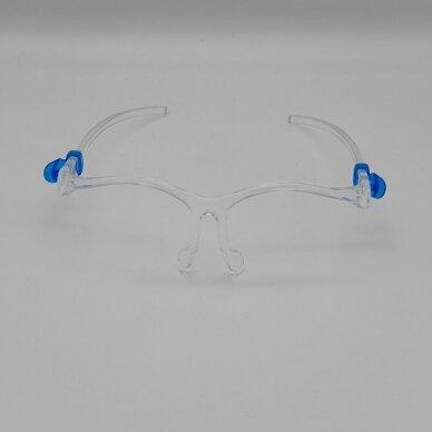 Apsauginis veido skydelis SUPER LIGHT (akinių rėmeliai + apsauginis skydelis) (1 vnt.) 5