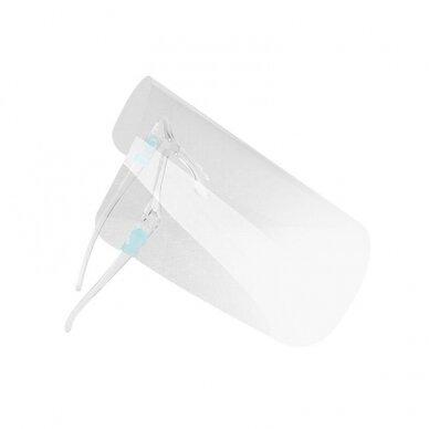 Kaitsev näokaitse SUPER LIGHT (prilliraamid + kaitsekilp) (10 tk.) 3