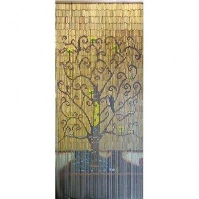 Bambuko užuolaida FRACTAL (90 X 200cm)