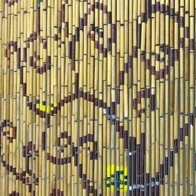 Bambuko užuolaida FRACTAL (90 X 200cm) 2