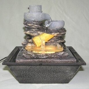 Dekoratyvinis fontanas - oro drėkintuvas MOTIO 21.5cm