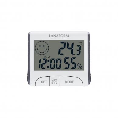 Termometras-drėgmės matuoklis Lanaform Thermo-Hygrometer 2