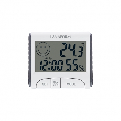 Drėgmės matuoklis Lanafrom Thermo-Hygrometer 2