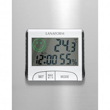 Termometrs-Mitruma mērītājs Lanaform Thermo-Hygrometerm 4