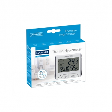 Mitruma mērītājs Lanafrom Thermo-Hygrometer 5