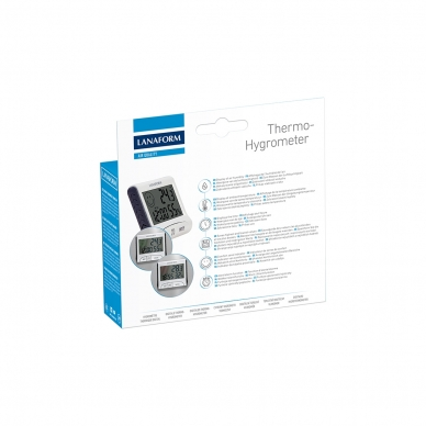 Termomeeter-niiskusmõõtur Lanaform Thermo-Hygrometer 6