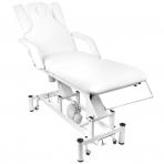 Elektrinis masažo stalas AZZURRO MASSAGE 3 WHITE