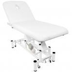 Elektriskās masāžas galds AZZURRO MASSAGE 4 WHITE