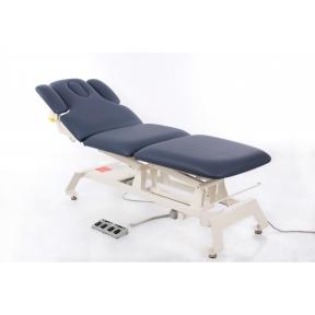 Elektrinis masažo stalas CAMINO TREATMENT AGATE BLUE