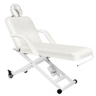 Elektriskās masāžas galds AZZURRO MASSAGE 5 WHITE
