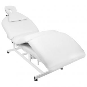 Elektriskās masāžas galds AZZURRO MASSAGE 6 WHITE
