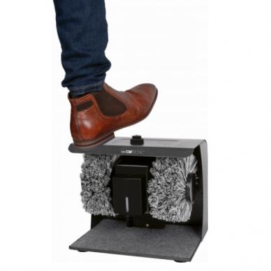 Elektrinis batų valymo aparatas Clatronic 2 Anthracite 2