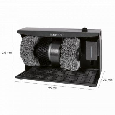 Elektriline kingaviksimise masin Clatronic 2+1 Anthracite 4